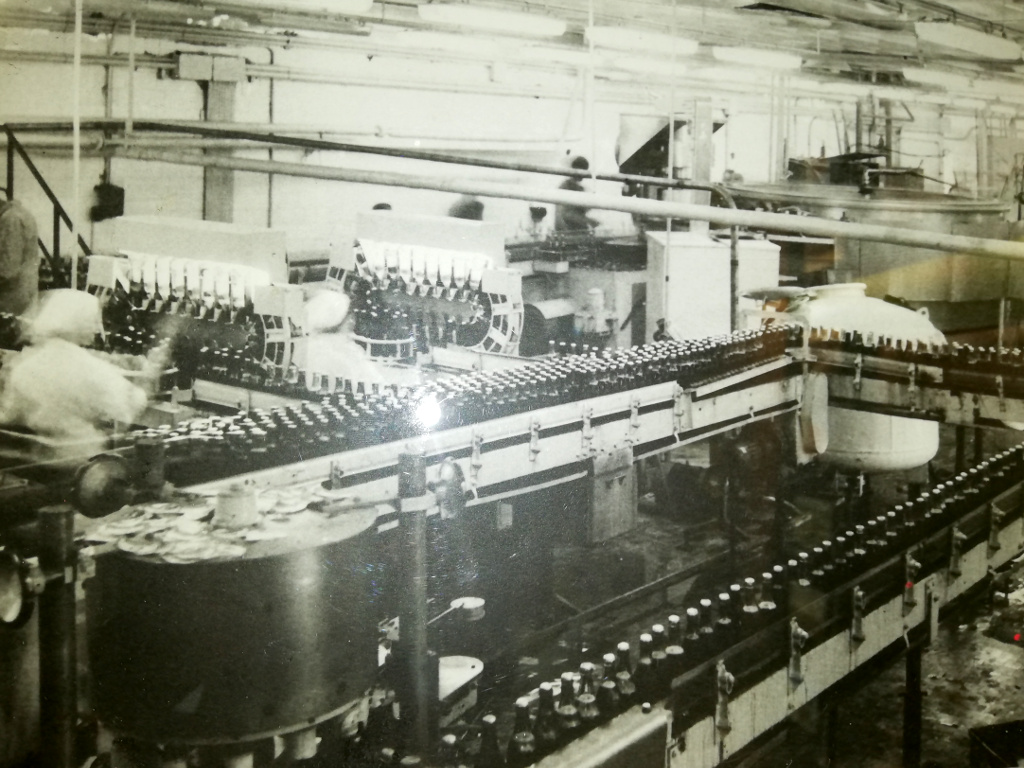 stepan razin bottling line 1960th